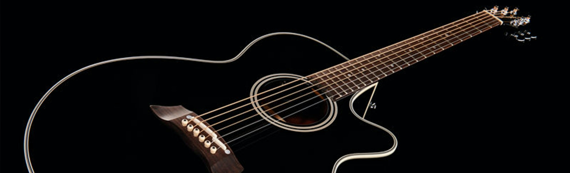 Takamine EF261SBL Acoustic-Electric Guitar
