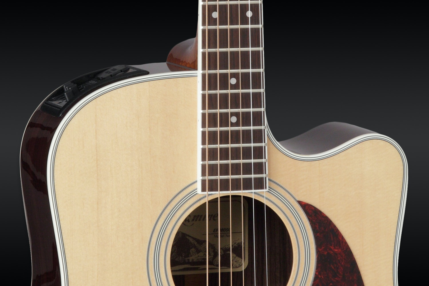 Takamine Legacy Series EF360SC Acoustic Guitar