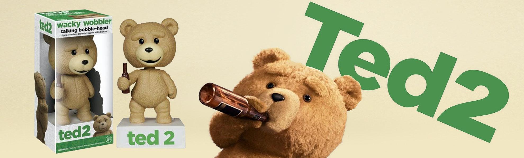Talking Wackly Wobbler: Ted 2