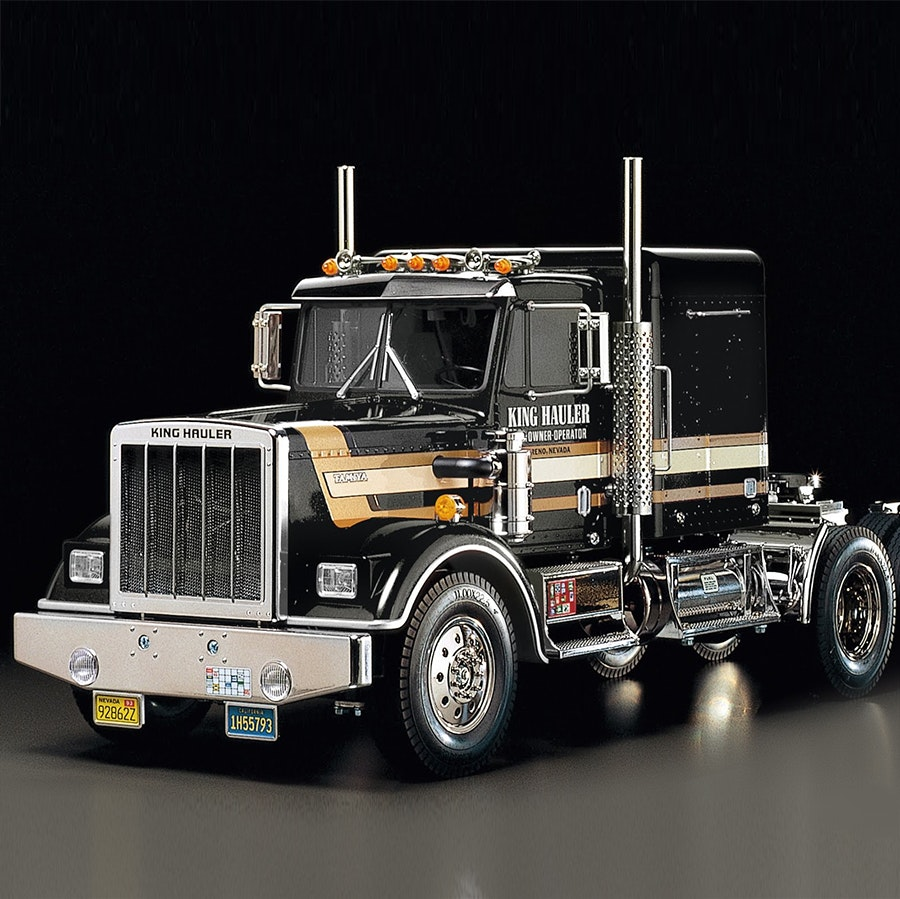 Tamiya 1/14 King Hauler Semi-Truck Black Edition
