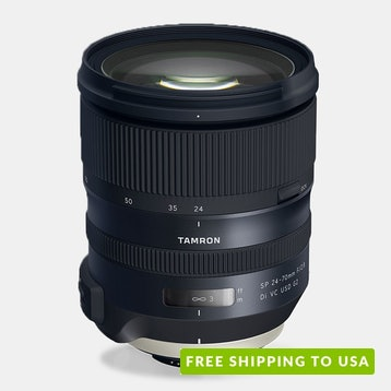 Tamron SP 24–70mm f/2.8 Di VC USD G2 Lens