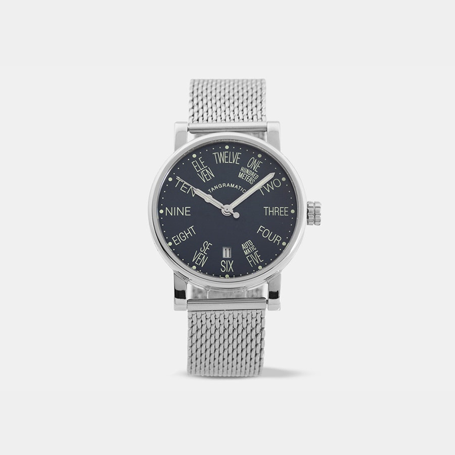 Tangramatic 39a Night Bauhaus Automatic Watch