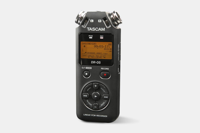 Tascam DR-05, DR-40 & DR-100 Portable Recorders
