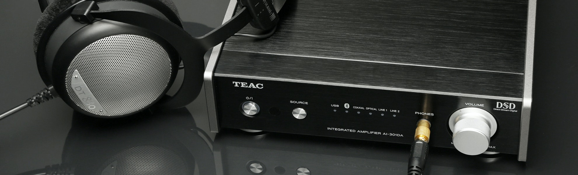 TEAC AI-301DA Integrated Amplifier w/ USB DAC
