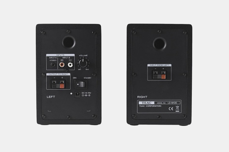 TEAC TN-100 Turntable & LS-M100 Speakers