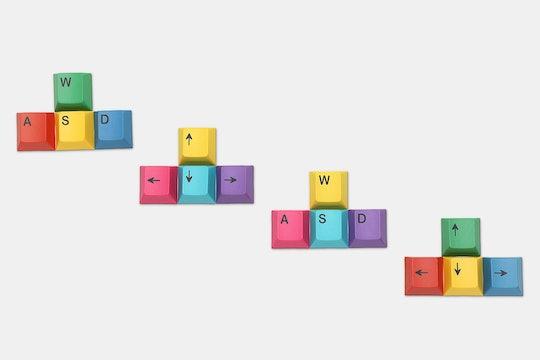 Teamwolf CYMK & RGBY Dye-Subbed Gaming Keycap Kit