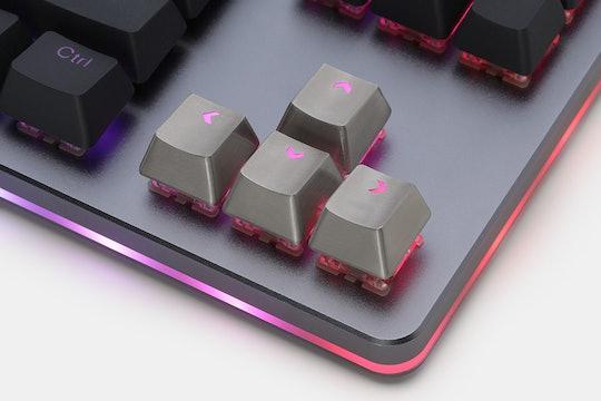 Teamwolf Stainless Steel MX Keycaps