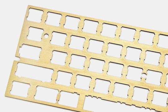 OMO Universal 60% Custom Brass Plate