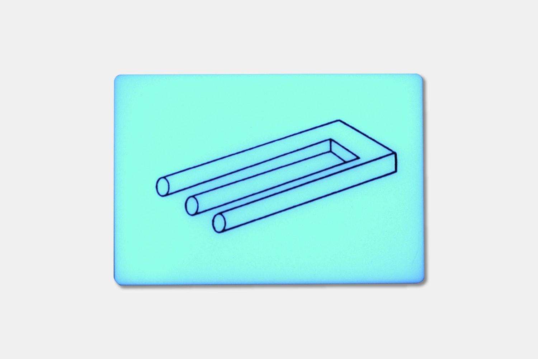 Blue – M. C. Escher