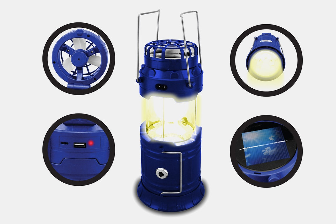 Technical Pro Rechargeable Outdoor LED Lantern