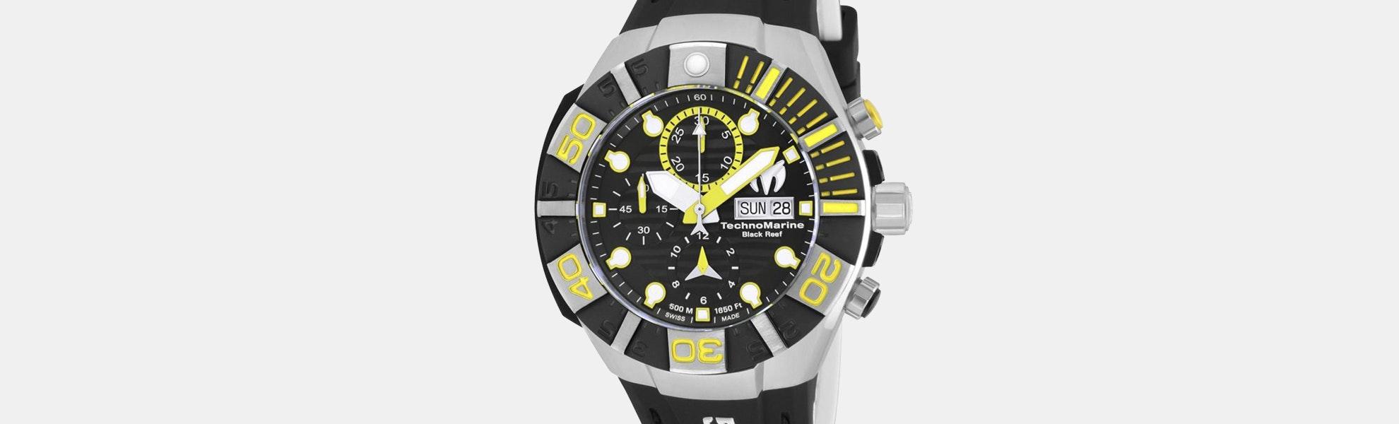 Technomarine Black Reef Automatic Watch