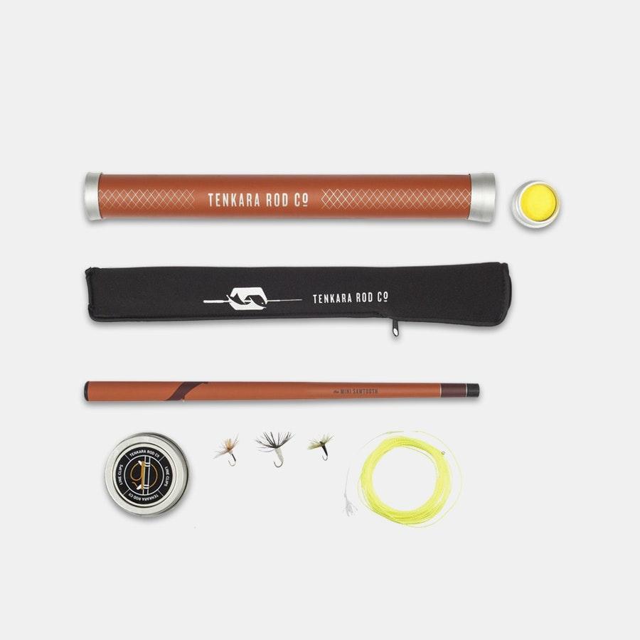 Tenkara Rod Co. Mini Sawtooth Package