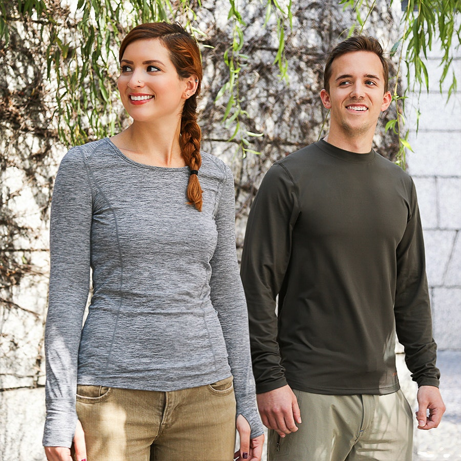 Terramar Thermoregulation Long-Sleeve Tops