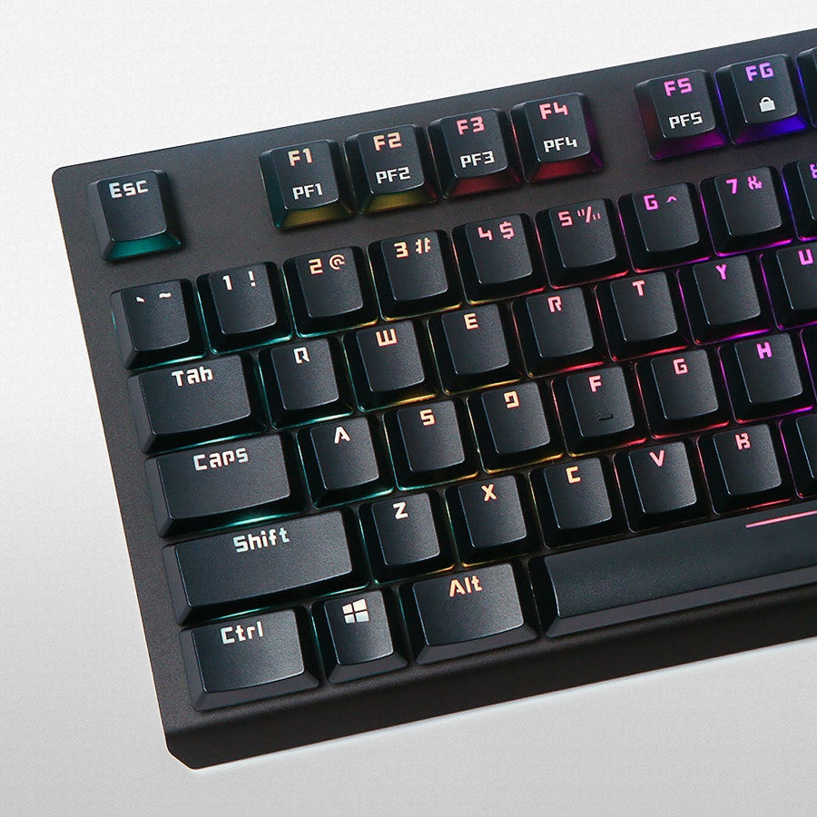 Tesoro Gram Spectrum RGB Gaming Mechanical Keyboard