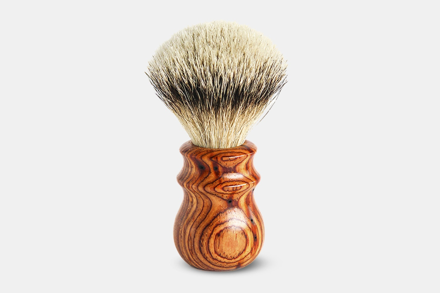 Silvertip Badger Cocbolo Heritage Brush - Orange (+ $40)