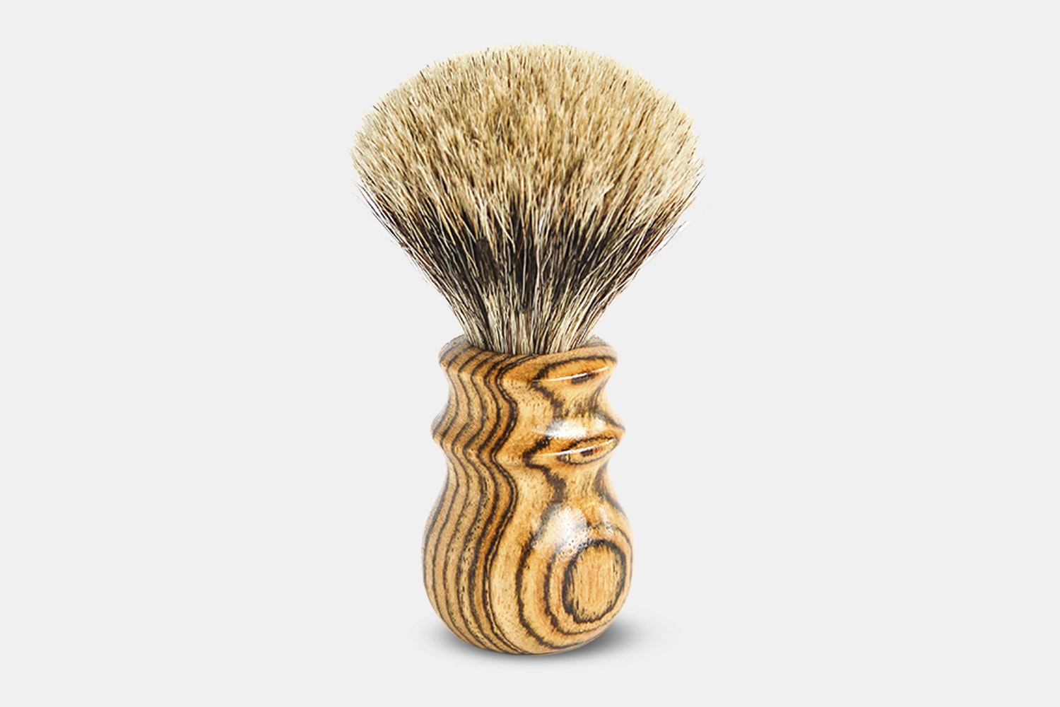 Bocote Best Badger Heritage Brush - Yellow (+ $25)