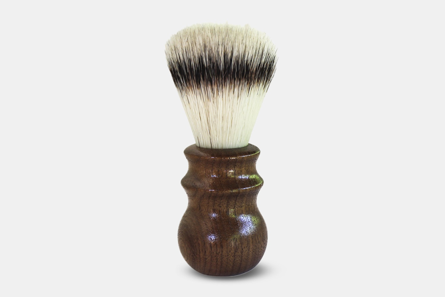 Walnut Synthetic Heritage Brush - Brown