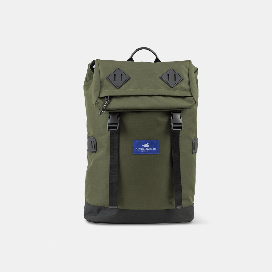 Alpine Division McKenzie Ripstop Backpack