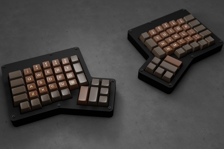 The Amazing Chocolatier Custom SA Keycap Set
