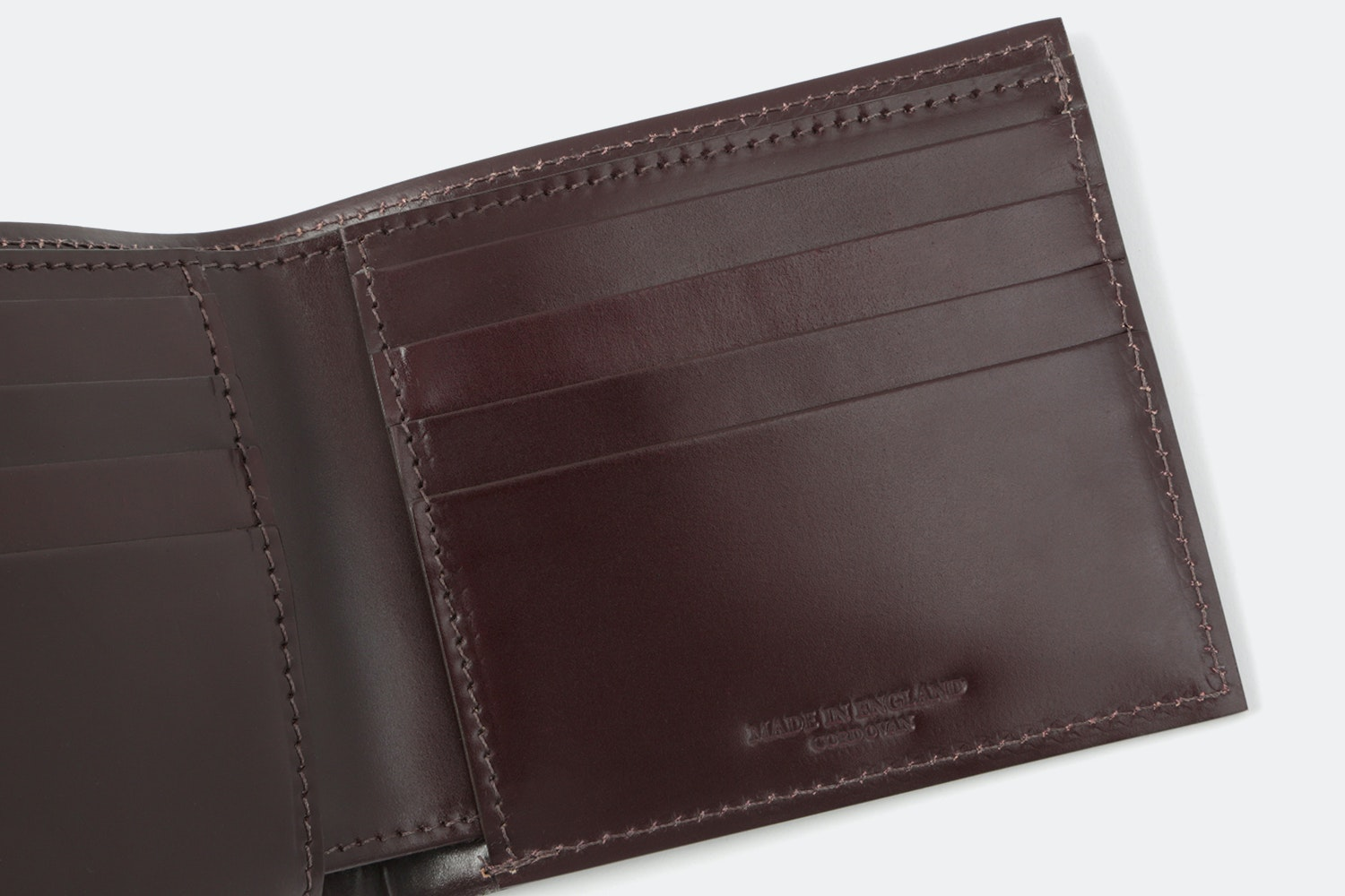 The British Belt Co. Shell Cordovan Wallet