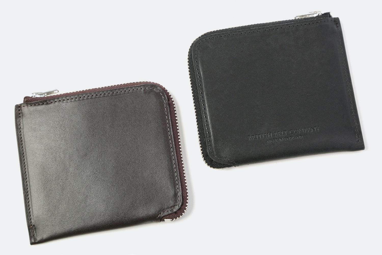 The British Belt Co. Half-Zip Wallet