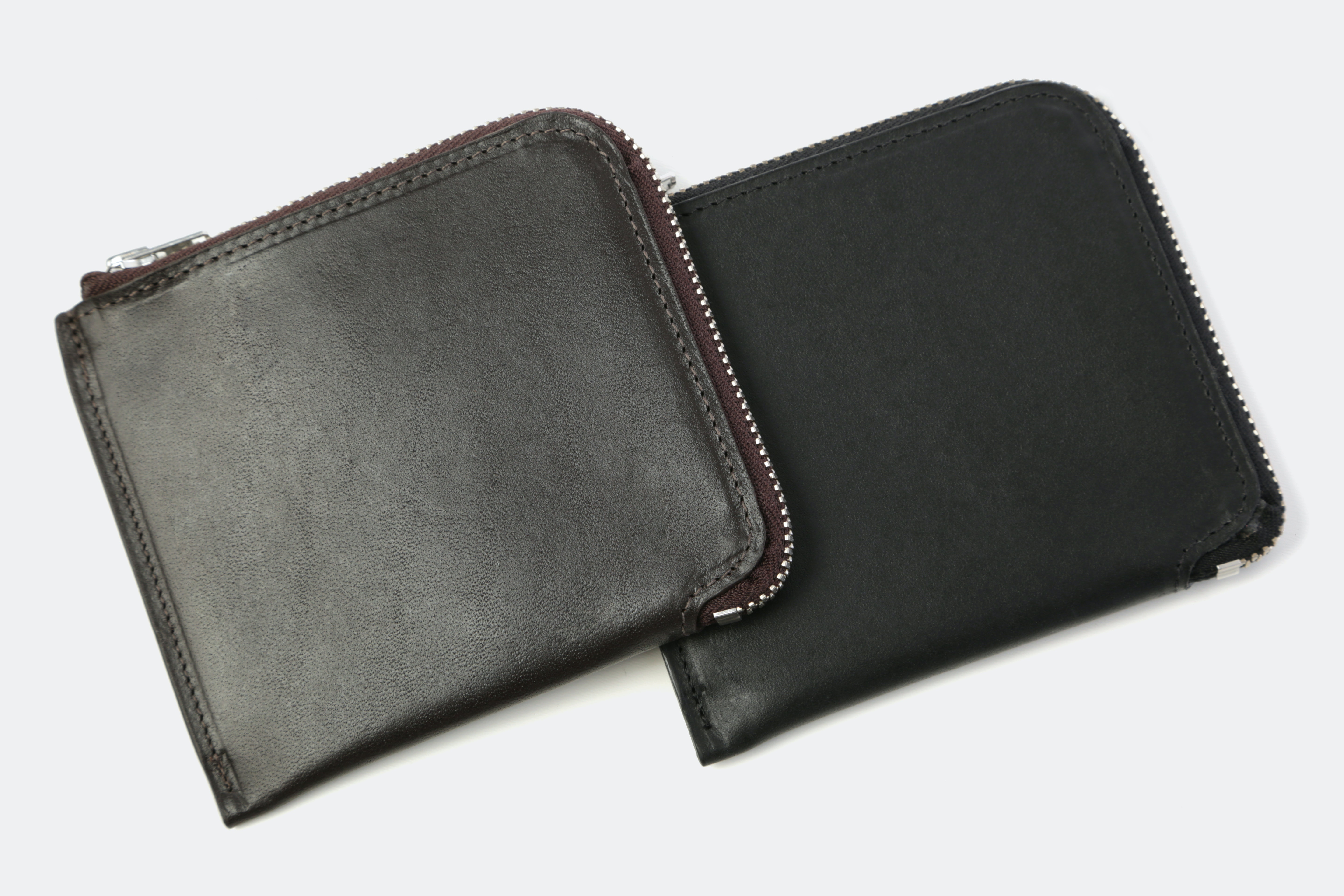 The British Belt Co. Half-Zip Wallet