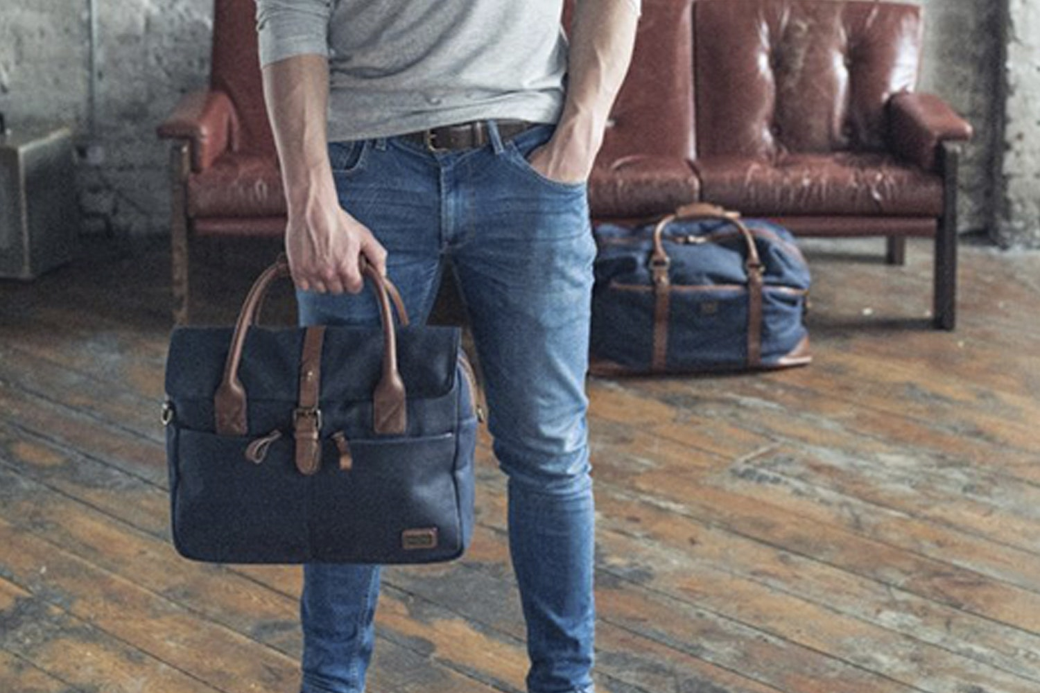 The British Belt Co. Langdale Briefcase