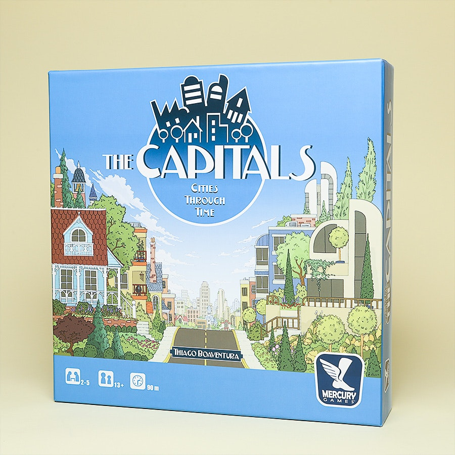 The Capitals Board Game