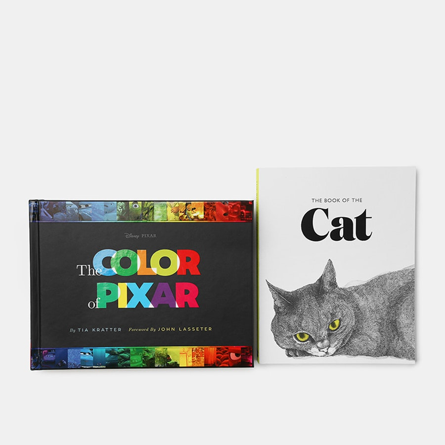 The Color of Pixar & The Book of the Cat Bundle