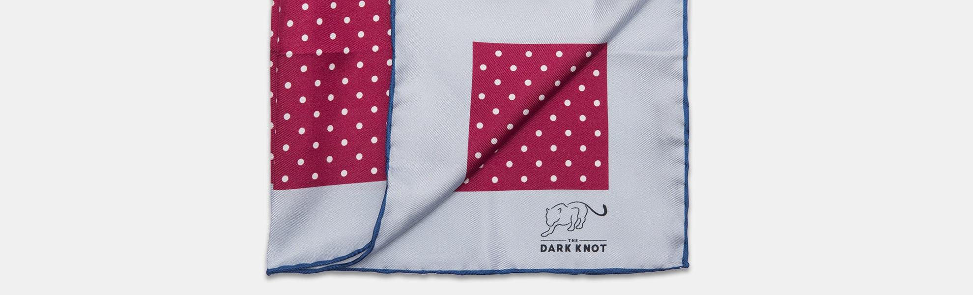 The Dark Knot Silk & Linen Pocket Squares