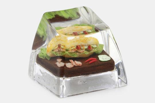 The Eye Key Food Series Bánh Mì Artisan Keycap