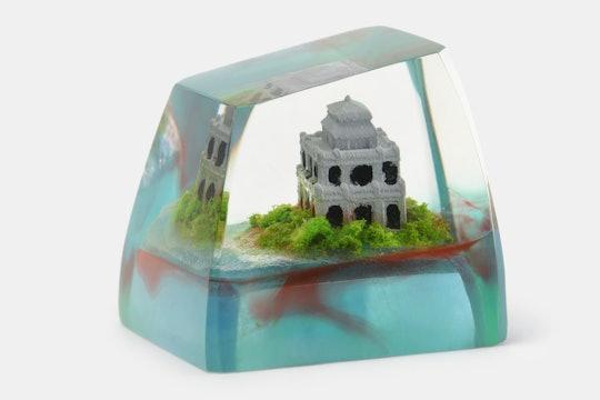 The Eye Key Mini Scene Keycap: Hoan Kiem Lake
