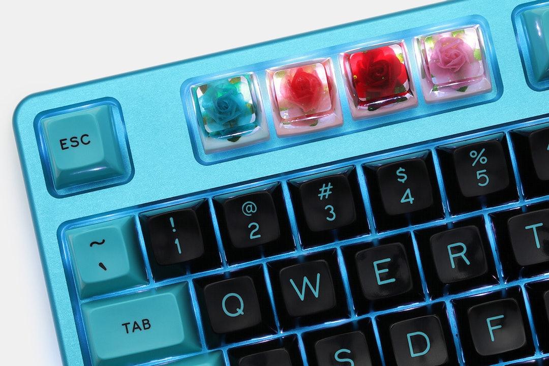 The Eye Key Rose V2 Artisan Keycap