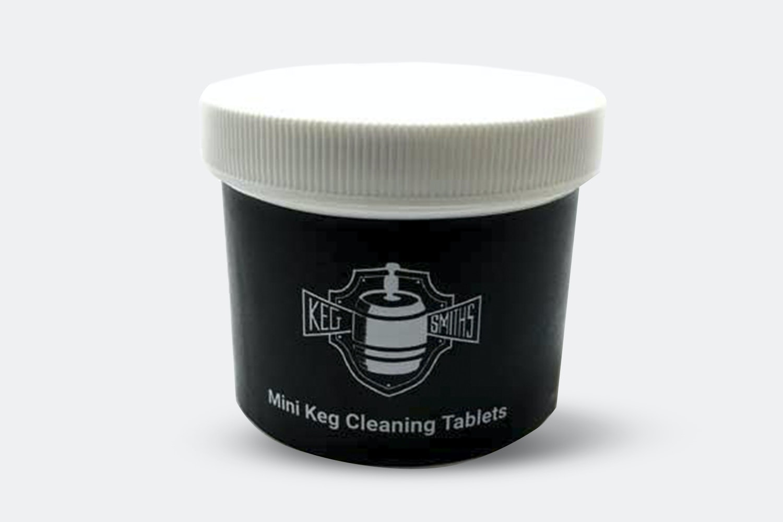 25 Mini Keg Cleaning Tablets (+ $8)