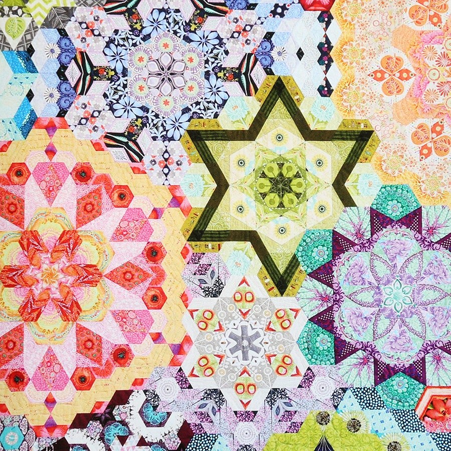 The New Hexagon Millefiore Quilt Along Bundle