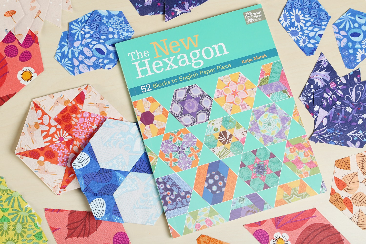 (4) New Hexagon Book by Katja Marek (+ $20)