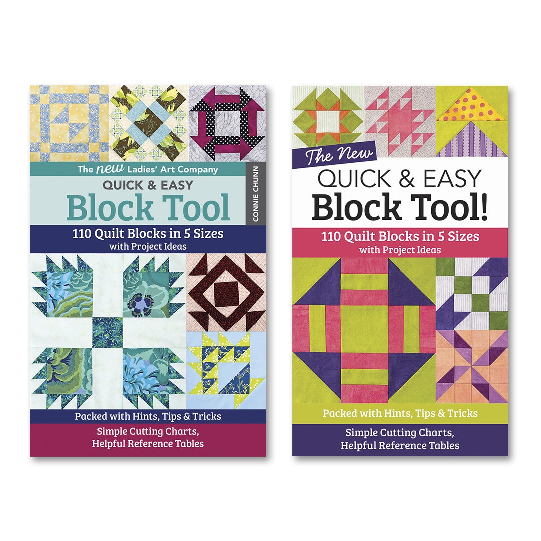 Quick & Easy Block Tool Book Bundle