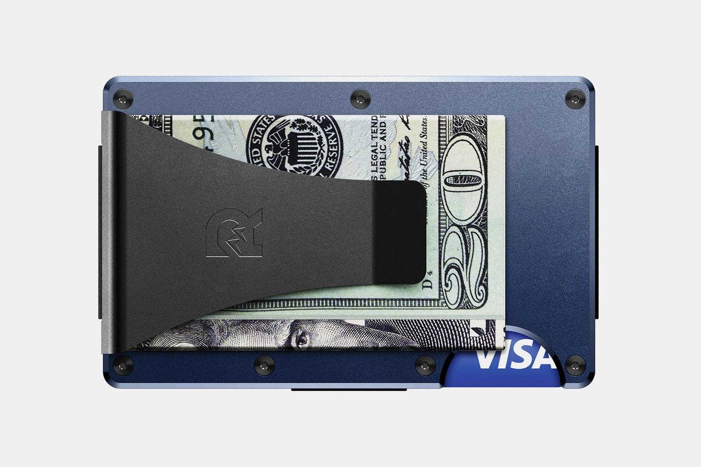 Aluminum - Navy - Money Clip