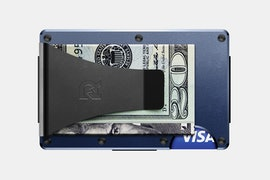 Aluminum - Navy - Money Clip