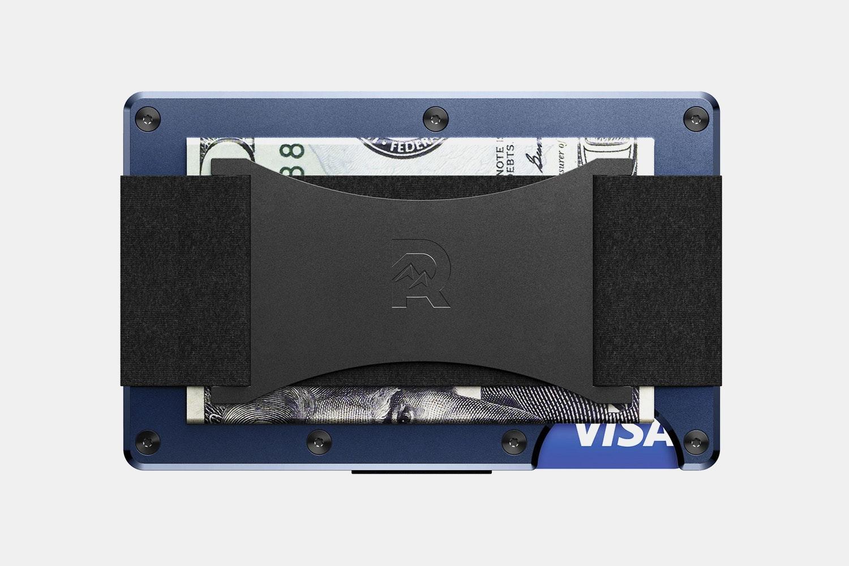 Aluminum - Navy - Cash Strap