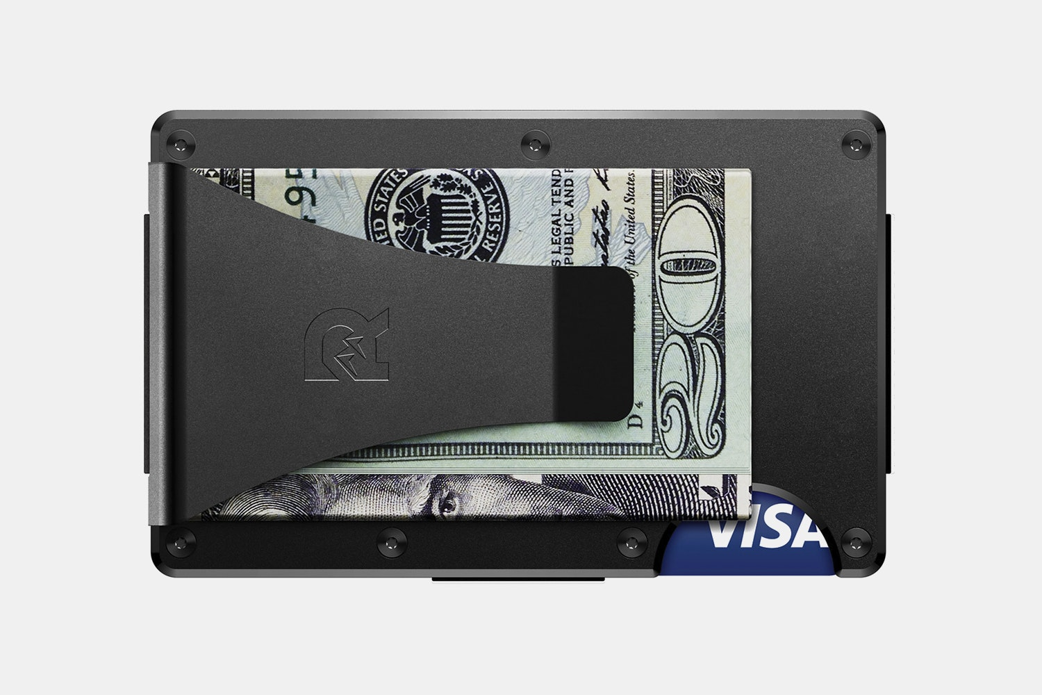 Aluminum - Black - Money Clip