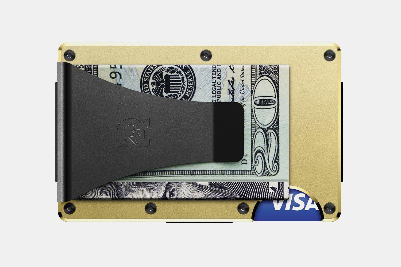 Aluminum - Gold  - Money Clip