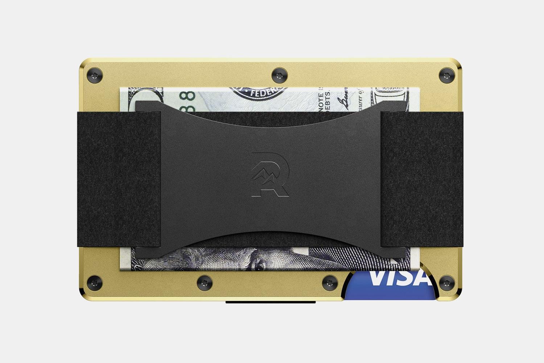 Aluminum - Gold - Cash Strap