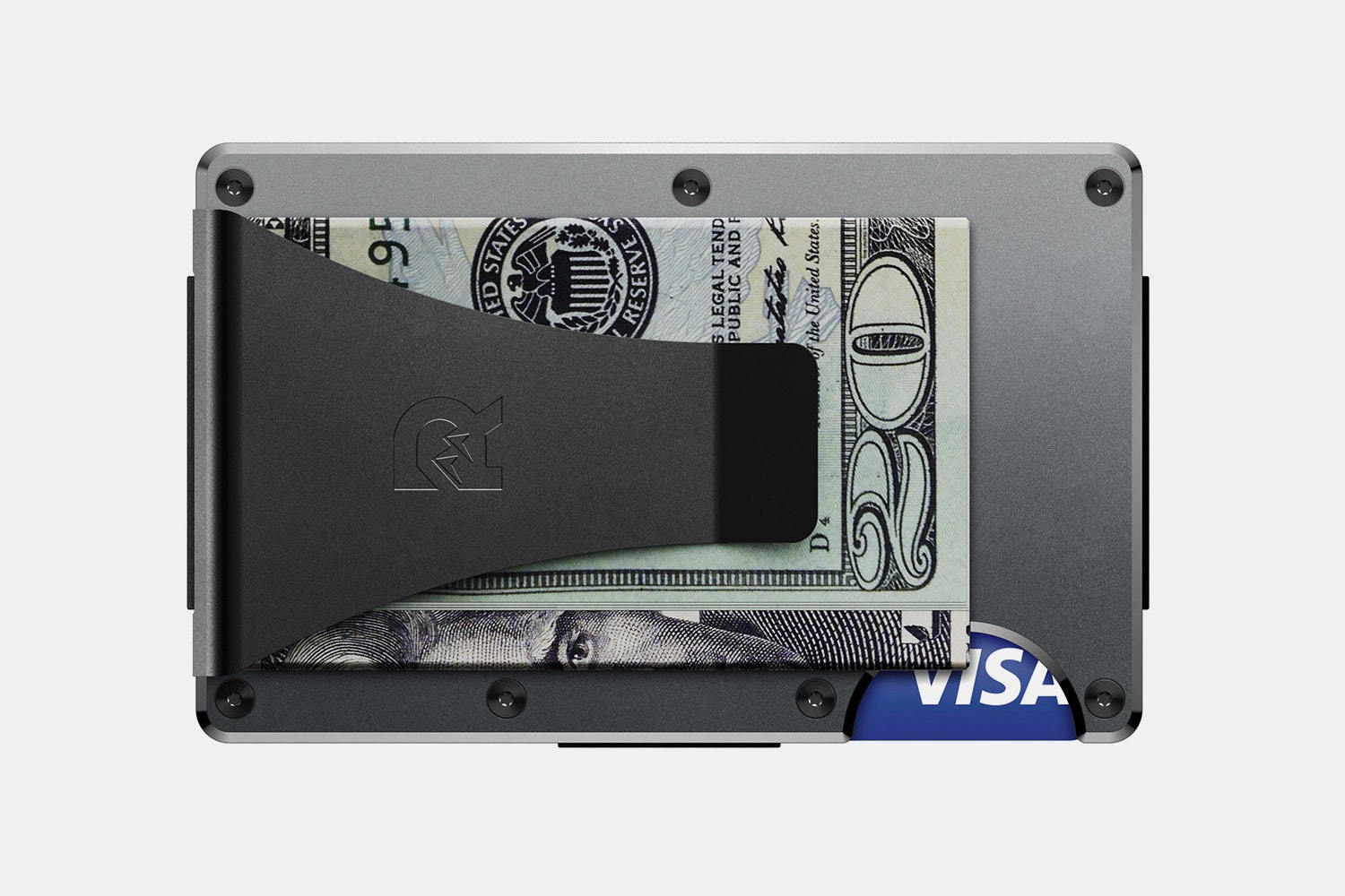Aluminum - Gunmetal - Money Clip