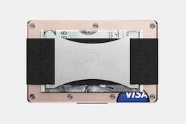 Aluminum- Rose Gold-Cash Strap