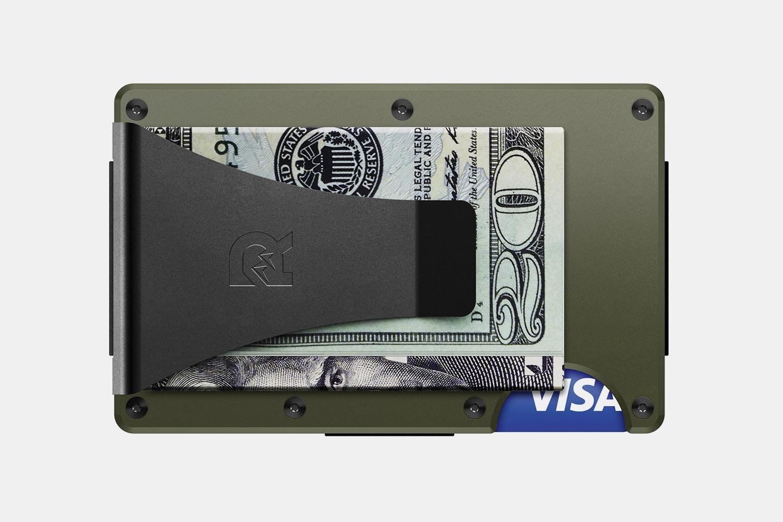 Aluminum - OD Green - Money Clip