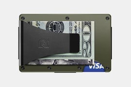 Aluminum - OD Green - Money Clip