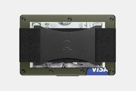 Aluminum - OD Green - Cash Strap