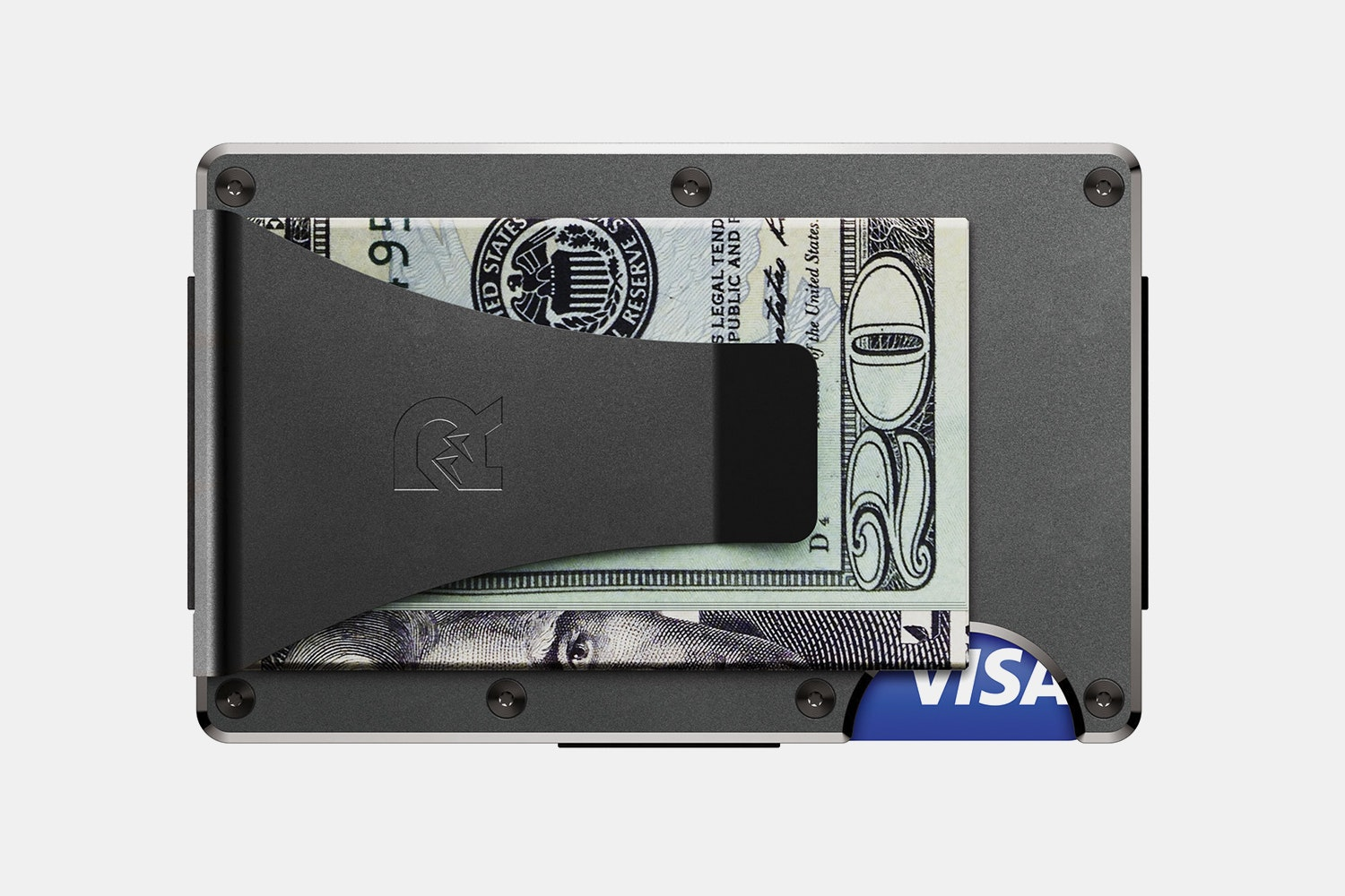 Titanium - Gunmetal - Money Clip  (+ $40)