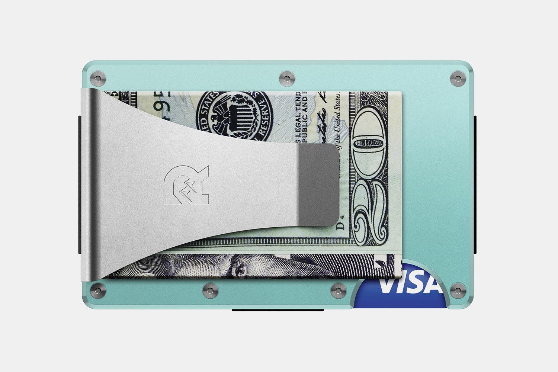 Aluminum - Celeste - Money Clip